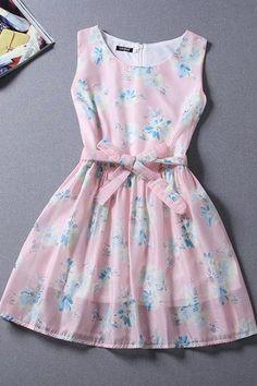 2015 new summer fashion Slim sleeveless dress