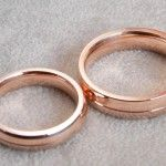 14K wedding rings