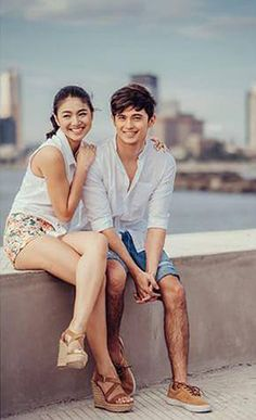 """Last feels of summer credit to sir johnny"""" Cute Relationship Goals, Cute Relationships, Teen Couples, Cute Couples, James Reid Wallpaper, Billy Crawford, Coleen Garcia, Filipina Girls, Nadine Lustre"""