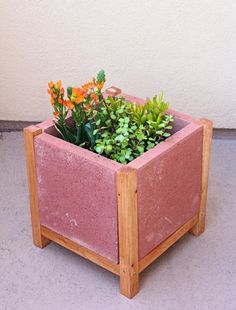 Easy DIY Project: Build a Paver Planter! ⋆ Brite and Bubbly