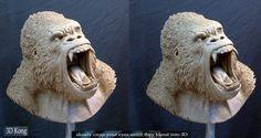 3D Kong by MarkNewman on DeviantArt