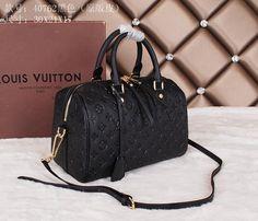 Louis Vuitton Monogram Empreinte Speedy Bandouliere 30 M40762 ...