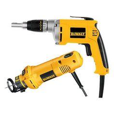 DEWALT DW272CO Drywall Screw Gun/Cut-Out Tool Combo Kit at Lowe's Canada