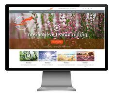 Responsive WordPress Website Heidagspel voor interactieve teamdagen en teamcoaching.