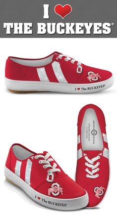 Step up your fan-tastic fashion game with the Ohio State Buckeyes Women's Shoes!