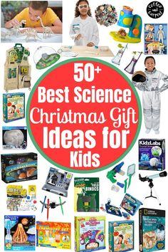 Must have gifts to encourage your kids to love science are perfect for your little scientists. Help your children learn to explore and gain a better understand of STEM with these awesome gifts that will teach them science through play! Top gifts for kids who enjoy science, perfect for birthdays or Christmas. Parent Gifts, Teacher Gifts, Creative Activities, Activities For Kids, Books About Kindness, Holiday Gifts, Christmas Gifts, Planet For Kids, Unique Gifts For Kids