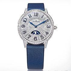 VOGUE:La montre Rendez-Vous Night & Day en diamant de Jaeger-LeCoultre