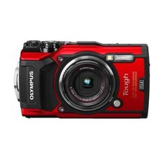 Olympus Stylus Tough TG-5 12MP Digital Point and Shoot Camera Red