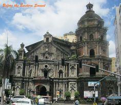 Binondo Church, Manila, Philippines. This is the shrine of the first Filipino saint, Lorenzo Ruiz.