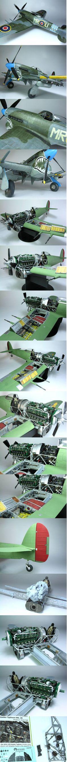 Airfix's Hawker Typhoon Mk. IIB | 1:24 scale