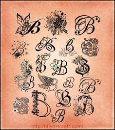 1000  ideas about Letter B Tattoo on Pinterest | B tattoo Tattoo ...
