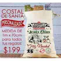 3c42d77cd Costales Navidenos Bolsa Para Navidad Regalos Etc en Mercado Libre México