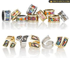 Frey Wille rings