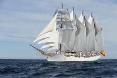 Buque Escuela Juan Sebastián Elcano, Spanish Navy   Flickr: Armada Española