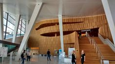 Oslo, Opera House interior.