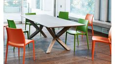 Anglo Rectangular Dining Table from Domayne Online