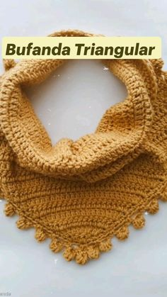Easy Crochet, Knit Crochet, Patron Crochet, Lace Scarf, Clothes Crafts, Knitting Accessories, Yarn Crafts, Crochet Clothes, Crochet Projects