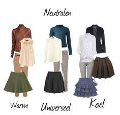 Je beste neutrale kleuren. Klik voor meer details op de foto. www.lidathiry.nl #NeutraleKleuren