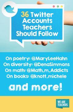 36 Twitter Accounts Teachers Should Follow - WeAreTeachers