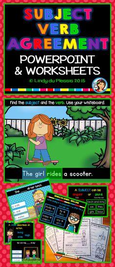 13 Best Subject Verb Agreement Images Teaching Grammar Subject