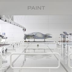 Architects Foster + Partners have completed a production centre for British sports car brand McLaren.