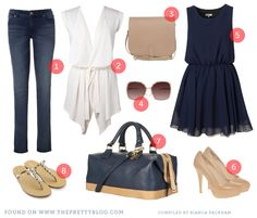 What to Pack: Girl's Weekend in Franschhoek {Travel Fashion} | {The Bride} | The Pretty Blog