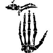 #michigan #hands https://www.spreadshirt.com/x-ray+michigan+t-shirts-A9268028