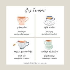 Çay terapisi – Different kinds of natural tea Diet And Nutrition, Health Diet, Health Fitness, Homemade Beauty Products, Diy On A Budget, Food Presentation, Face Care, Are You Happy, Healthy Life
