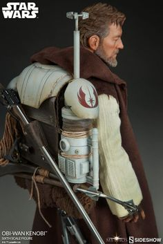 Get a first look at Sideshow Collectibles' Sixth Scale Mythos Obi-Wan Kenobi figure, a new take on a classic statue coming soon. Sideshow Star Wars, Jedi Cosplay, Mandalorian Cosplay, Alec Guinness, Star Wars Design, Star Wars Outfits, Star Wars Models, Star Wars Merchandise, Star Wars Costumes