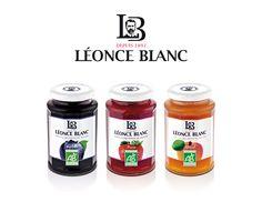 Léonce Blanc Jam Packaging, Packaging Design, Honest Tea, Blog, Honey, Container, Bottle, Tags, Canning Jars