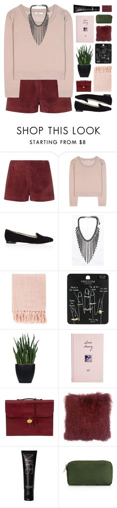 """""""VALENTINE'S DAY"""" by emmas-fashion-diary ❤ liked on Polyvore featuring Valentino, T By Alexander Wang, Karen Millen, Surya, Topshop, Lux-Art Silks, ASOS, NARS Cosmetics, Stoney Clover Lane and MANGO"""