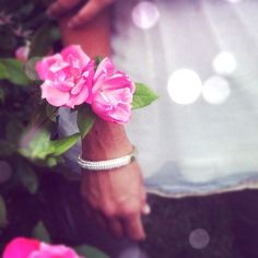 Feeling Girly #flowers #jewelry