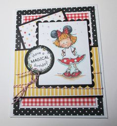 Happy Birthday Magic Day To A Friend With by LoveInBloomCreations, $3.00