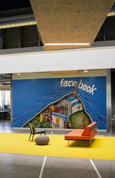 Facebook Wall Mural