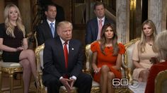 Donald Trump's first 60 min. Interview/ Trump Tower Now A Fortress 11-11-16