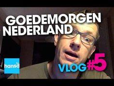 Goedemorgen Nederland Vlog 5 - HansD - tonijn - brood - Jiujitsu - icfr
