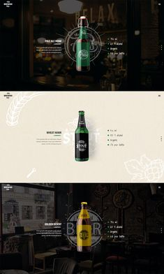 Buy Brewski - Pub and Brewery Theme by Mikado-Themes on ThemeForest. Cheers to Brewski, a theme crafted to perfection packed with elements ideal for every beer bar, brewery and pub. Web Design Grid, Modern Web Design, Web Design Tips, Food Design, Design Design, Menu Design, Wireframe, Webdesign Portfolio, Webdesign Layouts