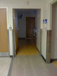 A photo of a Ghost captured in a hospital....