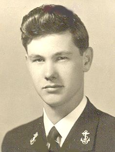 Johnny Carson (1925-2005). Ensign, U.S. Navy 1943-45 WW II. He enlisted as a Seaman Apprentice and later received a commission. He served as OIC of decoding messages on the USS Pennsylvania in the Pacific.