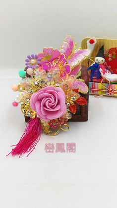 Chinese Bridal headpieces 中式頭飾 B&H wedding workshop