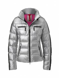 Sliver down ski jacket from Bogner.