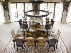 All Things Farmer: Cashiers is my Happy Place - The 2013 Designers Showhouse Log Home Decorating, Decorating Ideas, Decor Ideas, Mountain Living, River House, Nature Decor, Dream Rooms, Beautiful Space, Log Homes