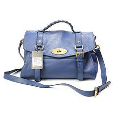 6919510758ab ... denmark new womens mulberry standard alexa leather satchel bag blue  outlet canada 2d11d 30cf0 ...