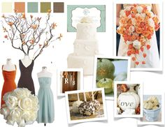 I want a spring wedding, but I love these colors!!