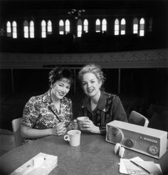 """Mandy Barnett and Tere Myers in """"Always, Patsy Cline"""" at the Ryman Auditorium."""