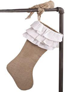 Shabby Chic #stocking  #holiday