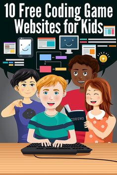 Our pick of ten of the best free websites offering online coding games for kids…. Our pick of ten of the best free websites offering online coding games for kids. Perfect for teaching programming skills to school aged kids. Coding Websites For Kids, Learning Websites For Kids, Kids Coding, Learning Games, Free Online Coding, Coding Games Online, Teaching Activities, Coding For Children, Best Game Websites