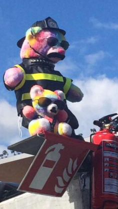 About OTRA Helsinki the Bears were dressed as firemen, I always thought it was a nod to fireproof but now I'm wondering if it was more than that.