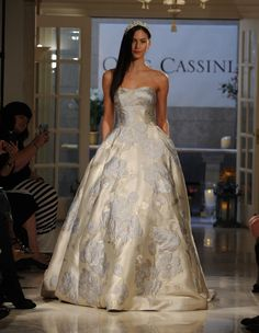 Oleg Cassini at David's Bridal's Fall 2016 Collection Has Lace for Days | TheKnot.com