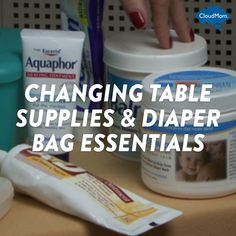 Changing Table Supplies & Diaper Bag Essentials | CloudMom